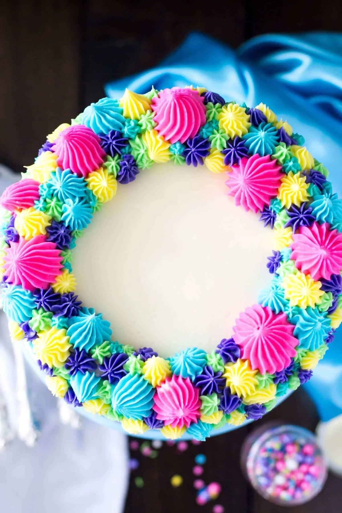 Funfetti Cake from Scratch (& A Very Merry Unbirthday) - Sugar Spun ...