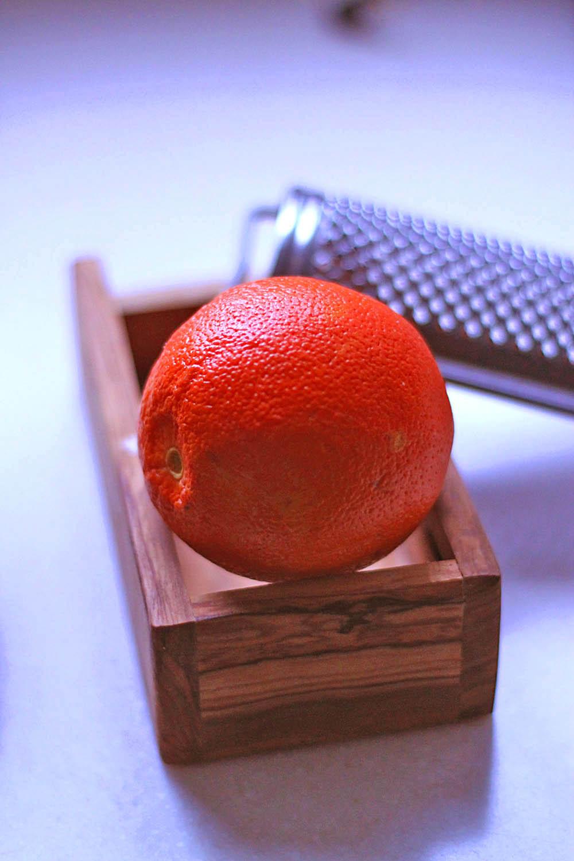 orange zest recipe