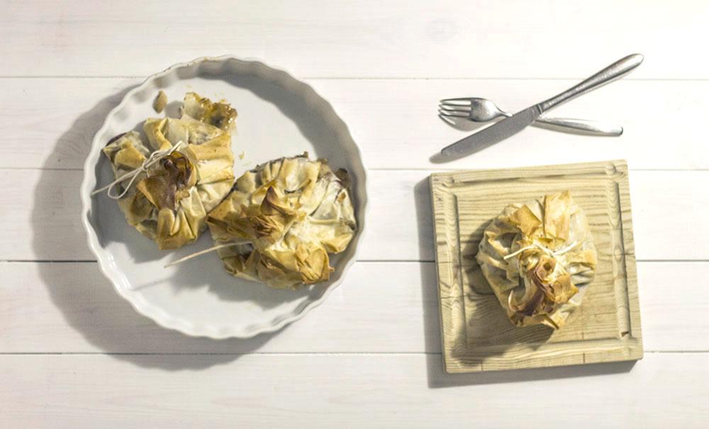 Prawn and Fennel Filo parcel recipe | sugar thumb