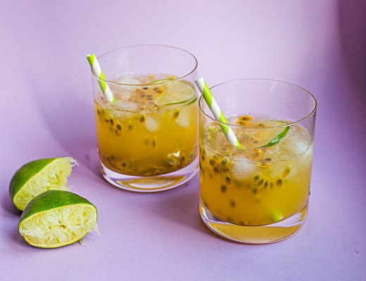 passion fruit caipirihna recipe