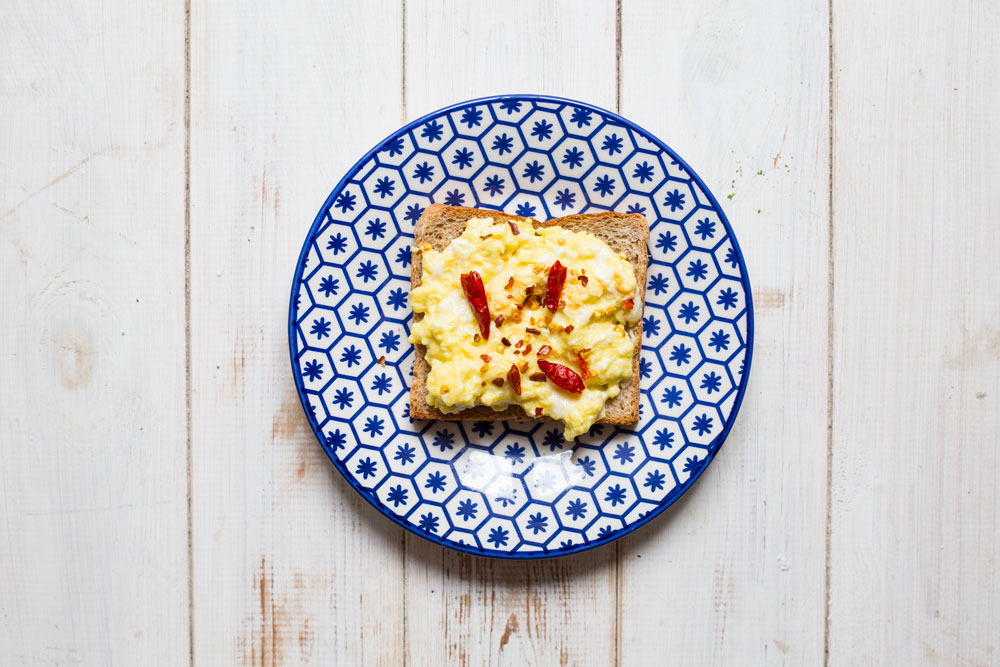 Scrambled eggs & Chilli