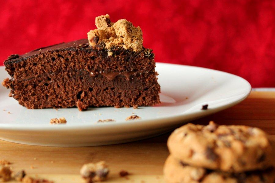 Chocolate & Caramel cake
