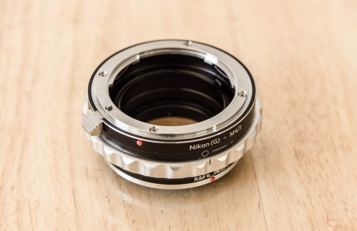 Medium Of Nikon To Canon Lens Adapter