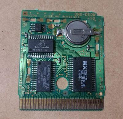 ゲームボーイカートリッジの電池交換方法