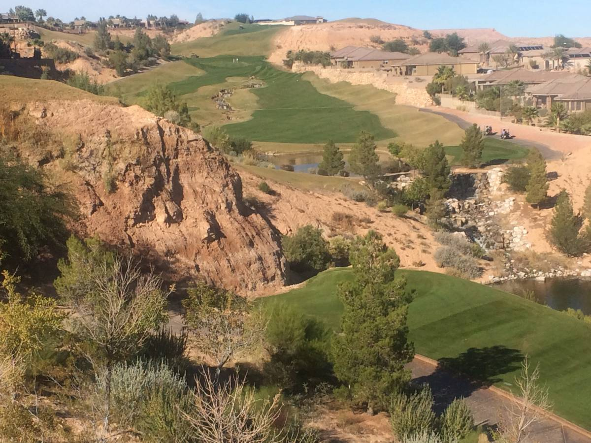 top 18 holes in Mesquite
