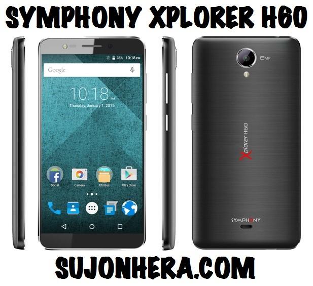 Symphony Xplorer H60 Full Phone Specifications & Price