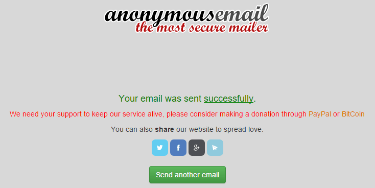 How To Send Email Anonymously Using Random Address