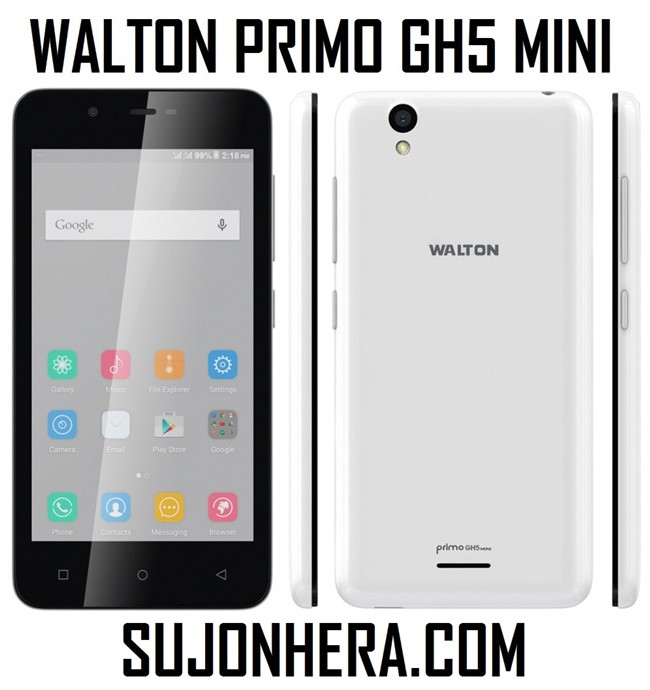 Walton Primo GH5 Mini Android Phone Full Specifications & Price