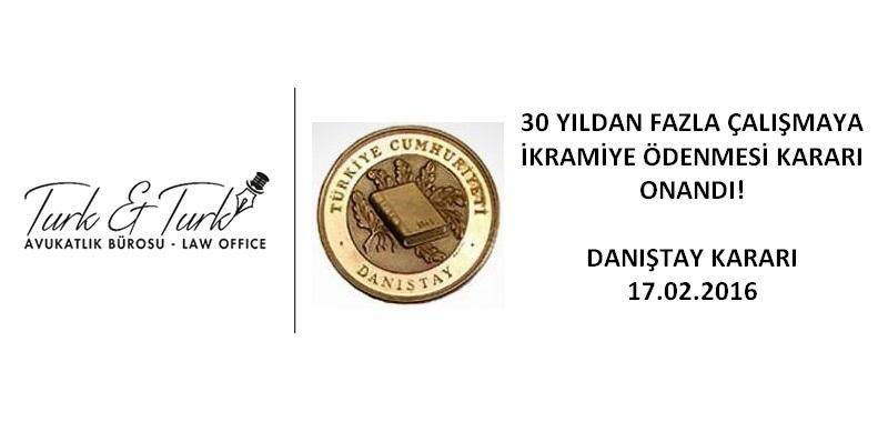turk logo danistay Fazla Çalışma