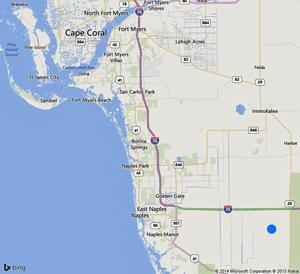 Map Southwest Florida