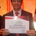 Benny Wendry Dapat Penghargaan HUT Kota Padang