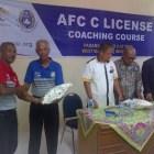 Suasana Haru Liputi Penutupan Pelatihan AFC C License