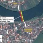 Kementerian PUPR Lakukan Evakuasi Jembatan Cincin Lama