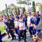 Menteri PUPR Pembawa Obor Asian Games di Solo