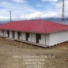 116 Unit Huntara Bagi Korban Gempa Sulteng Siap Digunakan Pertengahan Desember 2018