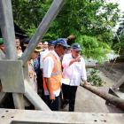 Menteri Basuki : Jembatan Batang Kalu pada Jalur Padang – Bukittinggi, Sabtu Bisa Dilalui