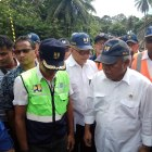 Menteri PUPR Basuki Hadimuljono Tinjau Langsung Jembatan Putus di Kayu Tanam Padang Pariaman