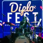 IP Band Ramaikan Diplofest ke-4 Padang, Generasi Milenial Sumbar Termotivasi