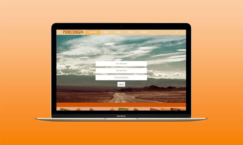 Pioneering-PressPortfolio-Template