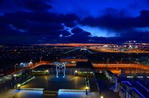 関空展望ホールからの夜景