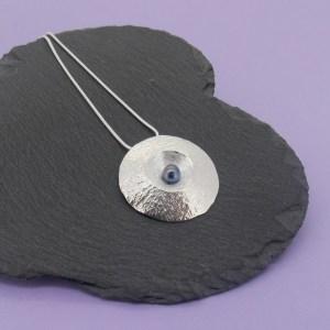 Amulet Pendant – Peacock Pearl