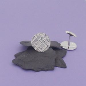 Silver Trojan Cufflinks