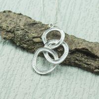 Silver Tria Pendant