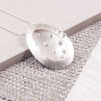Handmade Silver Piccolo Pendant
