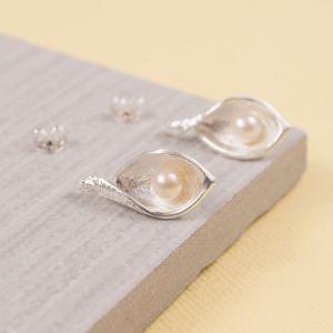Snakeye Silver Stud Earrings