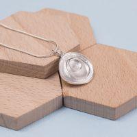 Silver Eternity Pendant