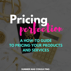 Pricing Perfection | How-to Guide + Workbook