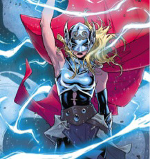 The all new female  Thor