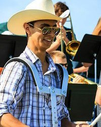 RMC senior Ramon Ochoa will represent the college through a state-wide music association.