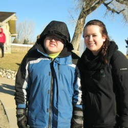 Emily Schaff with her brother Skyler, photo courtesy of Emily Schaff