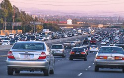 Typical traffic demonstrates a major problem in Los Angeles, California. Photo courtesy of Californiawatch.org.