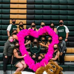 RMC Cheer spreading the love