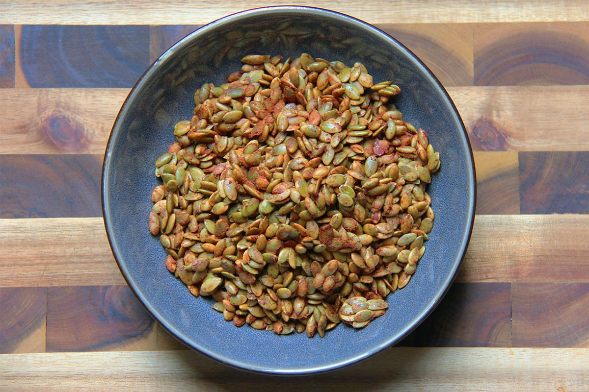 Spiced Pumpkin Seeds - Sumptuous Living