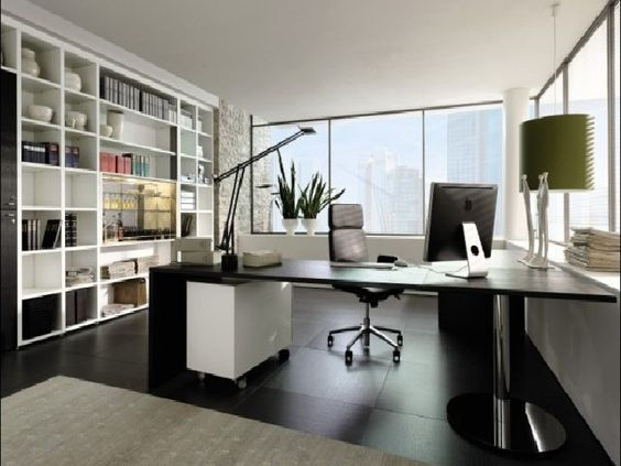 contoh desain ruang kerja rumah minimalis