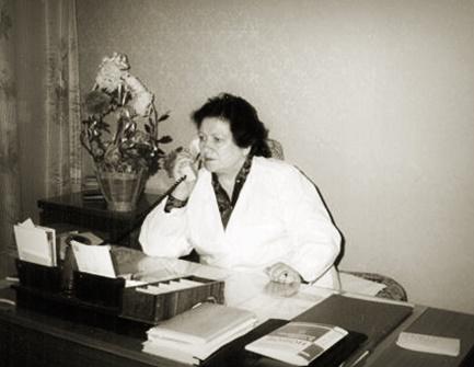 Шатунова Валентина Петровна — главный врач Копейской городской станции переливания крови