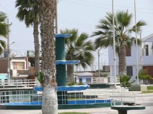 la plaza de armas del distrito de sunampe