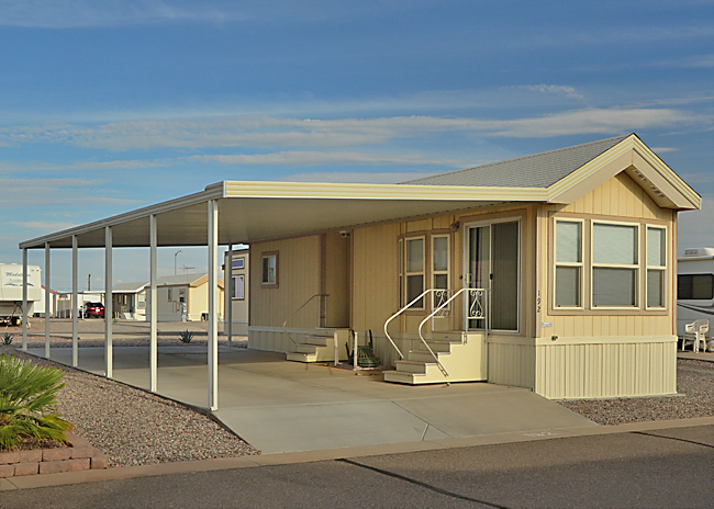 Arizona 55+ Resort Homes for Sale, Sundance 1 RV Resort, Casa Grande AZ