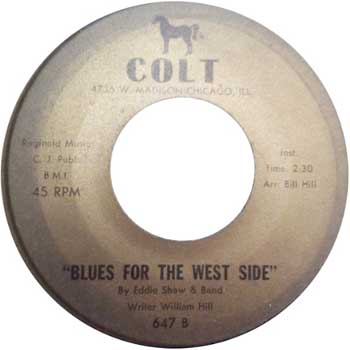 Eddie Shaw: Blues From The West Side