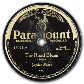 Jaydee Short: Tar Road Blues