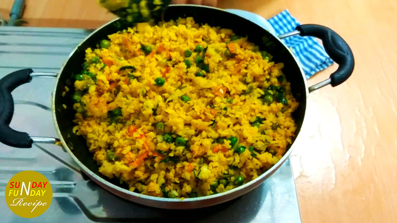pease poha recipe 8