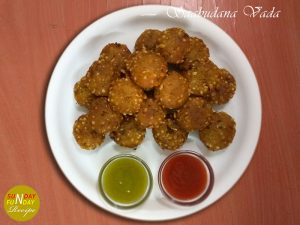 recipe of sabudana vada