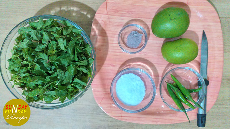 mango mint chutney ingredients