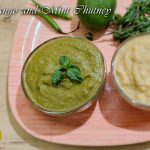 raw mango and mint chutney