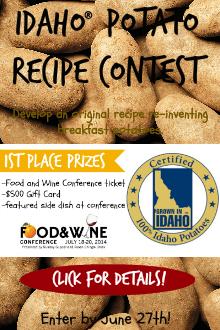 Idaho® Potato Recipe Contest