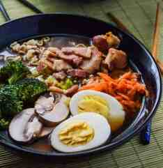 Bacon Miso Ramen #WeekdaySupper