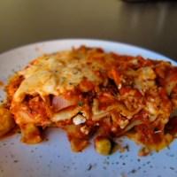 Let me make a point: Turkey Lasagna